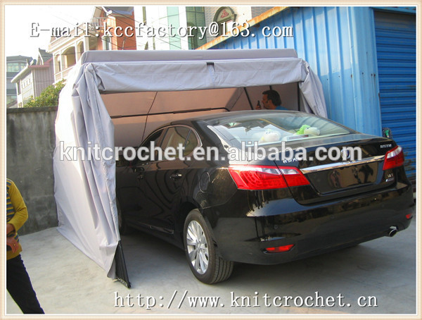 Temporary Snow Shelter For Cars : French style canopy portable car garage shelter snow
