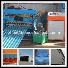 Ondulazione metallo usato pannello rullo del tetto che forma machine| foglio di <span class=keywords><strong>plastica</strong></span> coperture ondulate