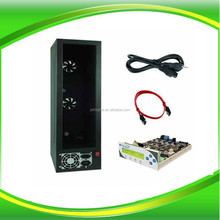 1 To 11 Targets Black-Spirit Duplicator Tower Case With Vinpower CD DVD Blu-Ray Controller