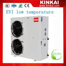 European Market Low Temperature Heating And Cooling EVI Air Source Heat Pump