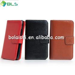 Leather Flip Wallet case for motorola droid razr xt910 xt912 w Card Slot