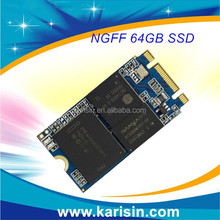 Factory price Karisin M.2 ngff SSD 64gb mini pc board SDD