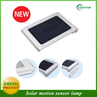 PIR control motion sensor led light with 1.5w solar panel