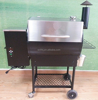 Professional Supply Biomass Wood Pellet BBQ Smoker Grill