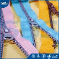 open end zippersfor pants,SBS zipper crotch plastic zipper,11# close-end metal zipper