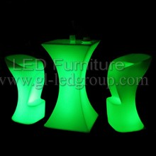 Magic Led Cocktail Table For Party,Rental House,Coffee House,Wedding