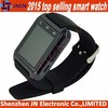 """hot new products for 2015 factory fashion FM radio 1.44"""" touch screen FM Radio bluetooth pedometer U8 android smart watch phone"""
