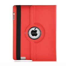 Colorful PU Leather Smart Flip Case Cover for Apple iPad 4