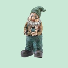Outdoors resin popular garden Gnome Figurine Wholesale