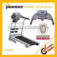 2014 model muilt function treadmill with 2 wheels for easy trasportation