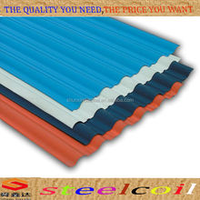 Corrugated steel roofing sheet, painted steel roofing made in China
