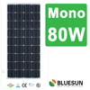Bluesun best price and high efficiency mono 80w solar panel