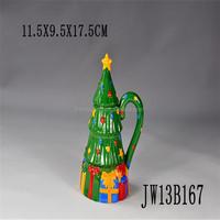 christmas tree shaped mug , mug tree and mugs,christmas tree mug