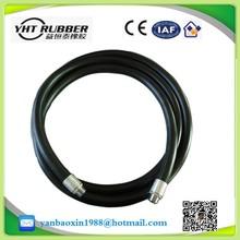 high pressure steel wire braid hot oil resistant ,fire -fighting ,sand blast ,welding machine ,marine flexible industrial hose