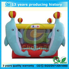 hot sales inflatable dolphin bouncer