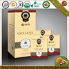 Healthcare supplement instant cafe latte with Juncao Ganoderma