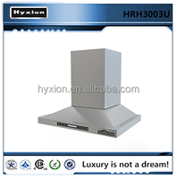 china kitchen chimney range hood cooker led light baffle filter HRH30603U