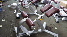 AMA-8839 professional gym exercises back stretch new design abjustable back strengthening exercise equipment in Guangzhou