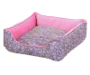 Sweet home soft warm china bed for pets canvas dog beds