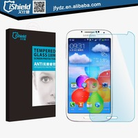 light blue cutting tempered glass screen cover 0.30mm with retail package