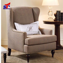 2015 High Quality American Living Room Leather Sofa / Hotel club Arm Chair LC1020