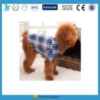 Best Design Autumn&Summer Plaid Shirt Pet Apparel for dog
