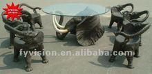 Oferta especial! Elefante mesa de café para su dulce hogar