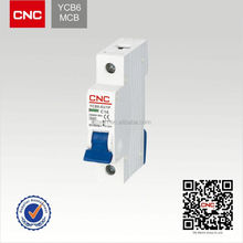 Hot sale YCB6 Earth leakage c45 mcb switch