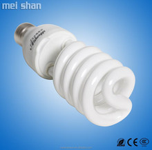 T4 tube 12mm half spiral 30w CFL fluorescent energy saving light bulb