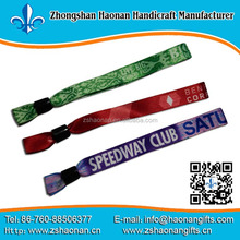 sales promotional event and games knit wristbands