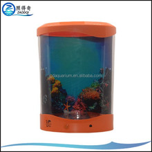 Hot Sale USB Powered Artificial Jelly Fish Tank , Jellyfish Aquarium with Led Light