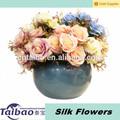 alta qualidade de casamento decoração de flores artificiais de seda