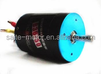 Powerful 3650 5400kv 4poles inrunner electric brushless rc for Most powerful brushless motor