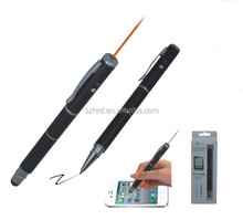 OEM 3 in 1 Ball Pen Touch Stylus Pen for Cell Phone Tablet PC with Laser