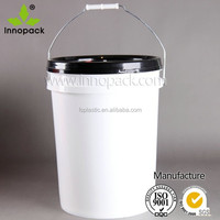 White 20 liter barrels with lid in China