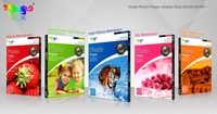 HUQE high glossy waterproof 115gsm-260gsm A3 A4 3R 4R 5R inkjet photo paper
