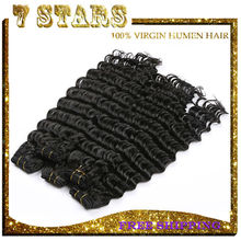 big stock DHL fast shipping 8-32 inch virgin remy malaysian deep wave hair
