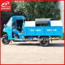 Cheap China Factory Motorcycle Truck 3-Wheel Tricycle Garbage Truck / Sanitation Vehicle