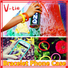 Innovative bracelet/hair band/silicone phone case cover for htc desire 620