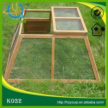 conejera al aire libre gran jaula madera para conejo