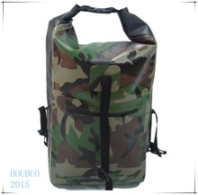 latest design large volume camou waterproof backpack for hiking and drifting