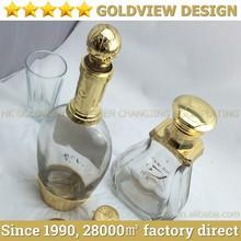 Die casting OEM fast sell metal zinc alloy wine package cap,Elegant Metal wine Cap packaging caps for wine