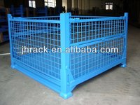 China Factory sell steel folding wire mesh container directly