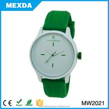 Unisex Jelly Gel Silicone Band Quartz Wrist Watch
