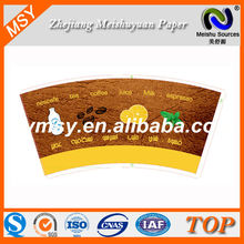 pe coated paper product