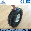 good quality rubber material small trolley wheels