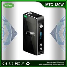 GREEN LI vape mechanical mod new box mod 180w box mod with mini protank, 510 atomizer premium kit