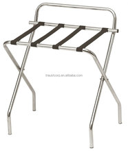 Folding Stainless Steel Luggage Rack for hotel room