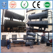 Best Manufacturer 10T Recycling Tire/Tyre To Crude Oil Equipment For Direct Heating