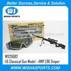 2014 novos! Oferta especial para 1:6 classical metal brinquedos pistola modelo série- awp l96 sniper brinquedo arma rifle
